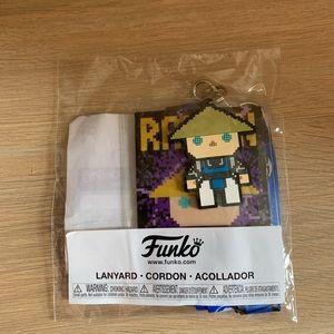 Funko POP! 8-Bit Raiden Lanyard GS Exclusive